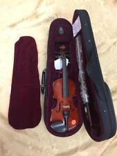 "Celestini 1/16 Size (9"") Student Violin Gloss Finish-Real Wood/Ebony-Shop Setup!"