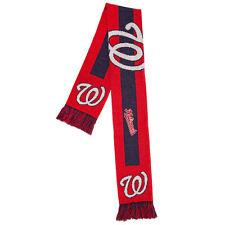 Washington Nationals Acrylic Scarf - Big Logo Design [NEW] Neck Winter Scarve