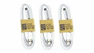 Samsung Usb Data Cable For Galaxy S3/s4/note 2 & Other Smartphones, 3 Pack