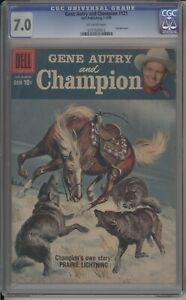 GENE AUTRY COMICS (AND CHAMPION)  - CGC 7.0 - PAINTED COVER - 0137529013
