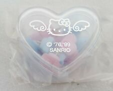 RARE 1999 Sanrio HELLO KITTY  Blue ANGEL 12pc PUSHPINS Push Pins Thumb Tacks NEW