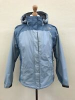 THE NORTH FACE Womens HYVENT Jacket Coat | Hooded Waterproof | Medium M Blue