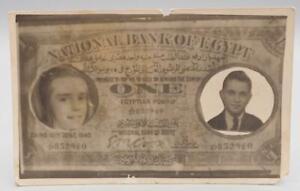 Vintage National Bank Of Egypt Novelty Unused Postcard