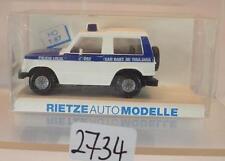 Rietze 1/87 Nr. 50187 Mitsubishi Pajero Kombi Policia Local Spanien OVP #2734