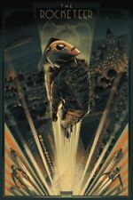 Mondo Rocketeer Variant Poster Cesar Moreno Artist Print Screenprint