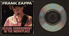 """MINI CD 3"""" ZAPPA SEXUAL HARASSMENT IN THE WORKPLACE / WATERMELON IN EASTER HAY"""