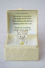 SPECIAL TEACHER@Cute Bear Box@ROSE@22KT Gold@PERSONALISED Thank you gift set
