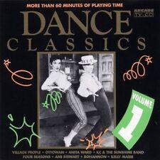 Dance Classics 1 (Arcade, 1991) Village People, Ottawan, Anita Ward, Amii.. [CD]