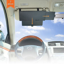 WANPOOL Car Visor Sun Shade Extender for Front Seat Driver and Passenger - 2pcs
