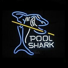 Pool Shark Neon Bar Sign