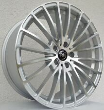 RH BM Alufelgen Silber poliert 8,5x19 5x114,3 Honda Hyundai Kia Mazda usw.