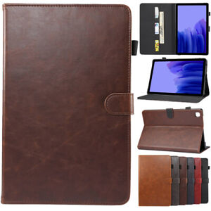 Leather Stand Case Cover Wallet For Samsung Galaxy Tab A A6 A7 S2 S6 S7 Tablet