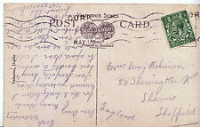Genealogy Postcard - Ancestor History - Robinson - Sharrow - Sheffield    U3732