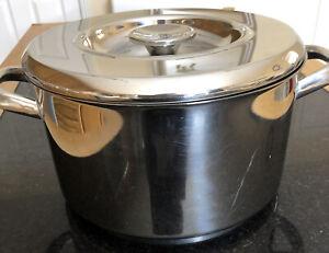 Aga Stainless Steel 6 Litre Casserole Pan 24cm