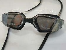 Swimming Goggles & Case Anti Fog Swim Mirrored Triathlon Squad Aquapulse Glasses