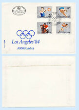 Yugoslavia 1984 First Day Cover 1984 Olympic Games Los Angeles FDC 1680-83