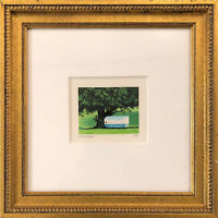 FANNY BRENNAN - Custom Framed 'Tagged Tree' Hand-Signed LE Lithograph