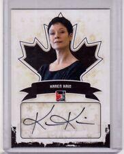 KAREN KAIN 10/11 ITG Canadiana Auto Autograph A-KK1 Ballerina Ballet Card