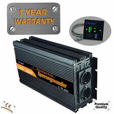 Sinus Spannungswandler 2500 5000 Watt 12V auf 230V Wechselrichter Inverter