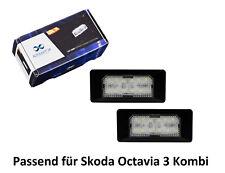 Premium LED Kennzeichenbeleuchtung für Skoda Octavia Kombi 5E5 KB15