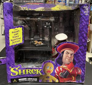 THE DULOC DUNGEON SHREK playset diorama McFarlane toys 2001 *read description*