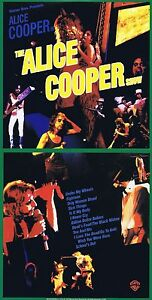 """Alice Cooper """" the Show """" With 14 Songs! Live With Very Hits! New CD"""