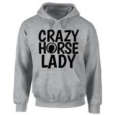 Sudadera con capucha de mujer de color principal gris 100% algodón