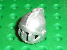 Casque LEGO castle minifig MetallicSilver helmet x167 / Set 7036 7093 5615 7092