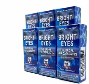 Ethos Bright Eyes Drops for Cataracts 6 Boxes 60ml