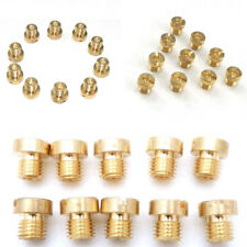 10 Pcs Motorcycle M6 Thread Main Jet Kit for Carb Carburetor 74- 95 Sets 10 Size