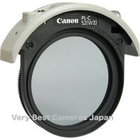 New Canon PL-C 52WII 52mm Drop-In Circular Polarizing Filter for Telephoto Lens