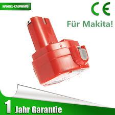 12V Rot Batterie Akku für Makita 1220 1222 638347-8 638347-8-2 192681-5 193981-6