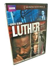 Luther Season One Idris Elba Golden Globe Winner BBC America 2-DVD Set  (2010)