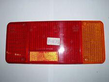IVECO Rücklicht Glas 305x130x20mm, Rückfahrlicht, Bremslicht, Blinker