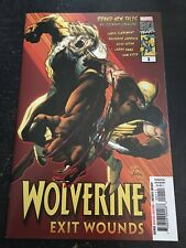 "Wolverine:Exit Wounds#1 Incredible Condition 9.4(2019)""Oneshot"""