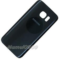 Black Glass Battery Cover with Adhesive For Samsung Galaxy S7 edge G935 G935F