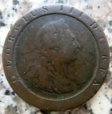 Great Britain 1797 George III Cartwheel Penny Coin Australian Proclamation
