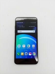 LG Phoenix 4 LM-X210APM 16GB Black AT&T Fair Condition