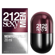 Carolina Herrera 212 Sexy Mens Pills Eau De Toilette EDT 20ml Spray