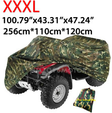 XXXL ATV Cover Waterproof Protector For Polaris Honda Yamaha Can-Am Suzuki Camo