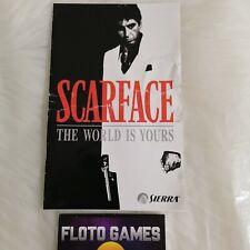 Notice de Scarface pour Playstation 2 PS2 PAL FR - Floto Games