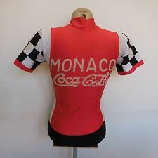 Combinaison cycliste CLM MONACO COCA-COLA PATRICK NICOLAS 1984