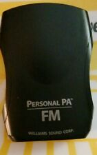 Personal Pa Williams Sound Corp Model R 35
