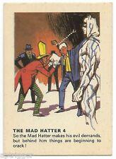 1966 Batman Weeties & Rice Krinkles The Mad Hatter 4 (Excellent)