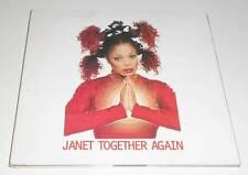 JANET JACKSON - TOGETHER AGAIN - 1997 UK 6 TRACK CD SINGLE IN DIGIPAK SLEEVE