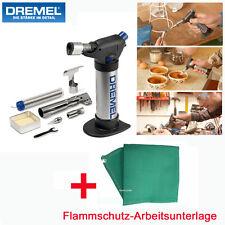 DREMEL Versa Flame Gas Lötkolben stationärer Brenner +4-tlg. Zubehörset +Matte