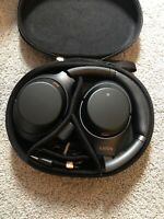 Sony WH-1000XM3 Bluetooth Wireless Noise Canceling Stereo Headphones Black