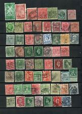 WORLDWIDE  EUROPE COLLECTION POSTAL USED PERFINS STAMPS  LOT ( WW 9)