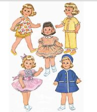 Vintage Pattern for Chatty Cathy Doll Patterns #6465