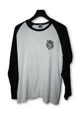 Chrome Hearts L/S Black & White Baseball Shirt